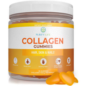Collagen Gummies for Men and Women's Hair