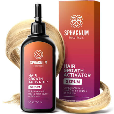 Follicle Activator Treats 5 Main Causes for Hair Loss