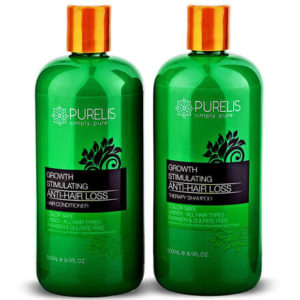 Hair growth shampoo conditioner set by Purelis