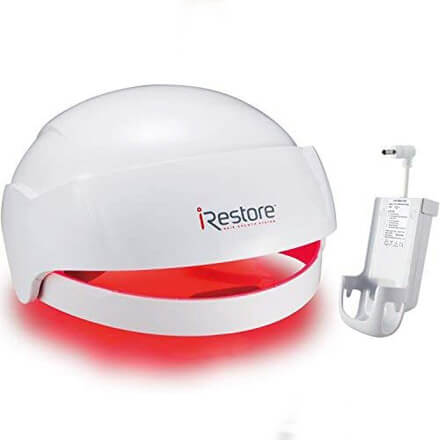 iRestore Laser Hair Growth System + Rechargeable Battery Pack