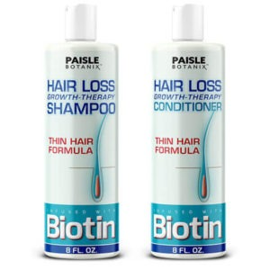 Biotin Shampoo and Conditioner by Paisle