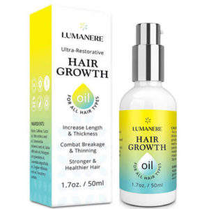 Hair Growth Oil with Biotin by Lumanere