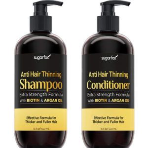Biotin & Argan oil Shampoo and Conditioner by Sugarfox