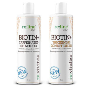 Caffeine and Biotin Shampoo and Conditioner by Paisle