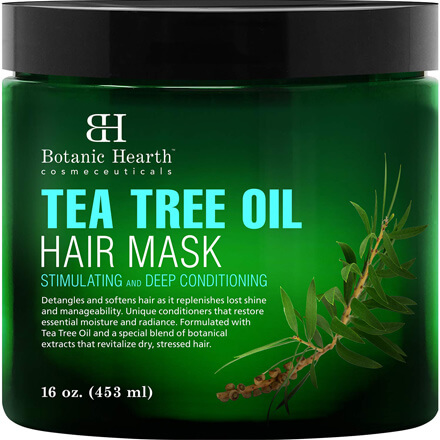 Tea Tree Hair Mask & Deep Conditioner by Botanic Hearth
