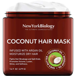 Coconut Hair Mask by New York Biology the Ultimate Cosmeceuticals