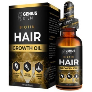 Biotin Hair Growth Oil by GENIUS Labs