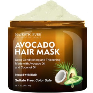 Avocado and Coconut Hair Mask by MAJESTIC PURE